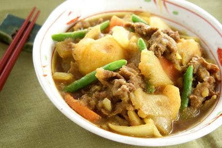 Recipe Braised Beef and Potato, Curry Flavor