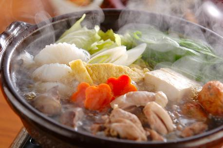 Chanko Nabe Sumo Style Chicken And Vegetable Hot Pot Japanese Cuisine Japanese Food Recipes
