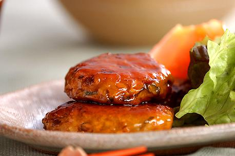 Recipe Chicken Hamburger Steak, Teriyaki Sauce
