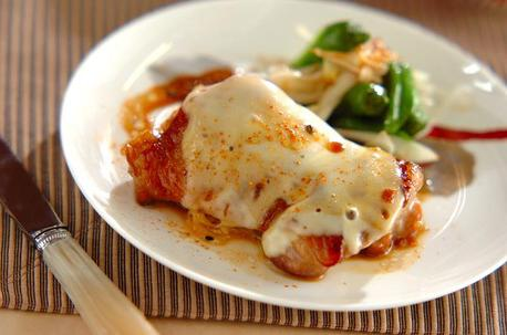 Recipe Chicken Teriyaki with Melted Cheese