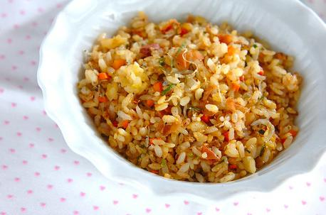 Recipe Fried Rice with Plum