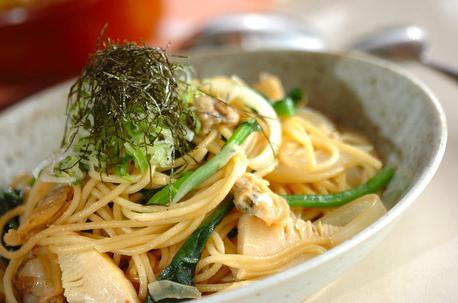 Recipe Japanese Style Clam Spaghetti