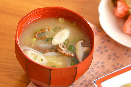 Recipe Miso Soup Full of Vegetables