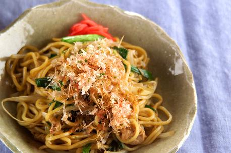 Recipe Oyster Sauce flavored Yakisoba (Fried Noodles)