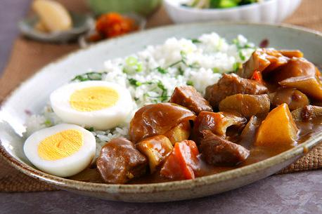 Recipe Pork and Vegetable Curry, Japanese-Style