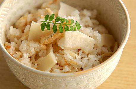 Recipe Rice with Bamboo Shoots