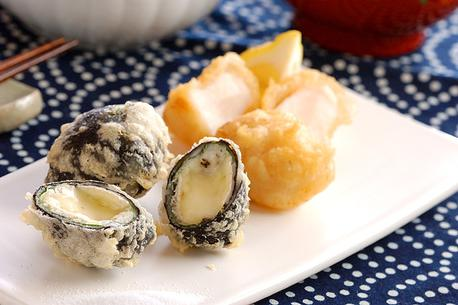 Recipe Scallops and Cheese Tempura