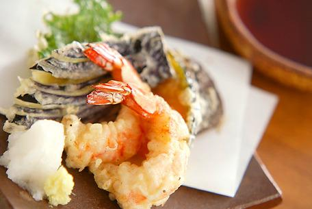 Recipe Shrimp and Vegetable Tempura