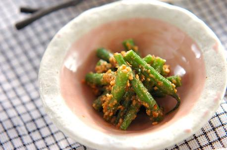 Recipe Snow Peas Dressed in Sesame Sauce