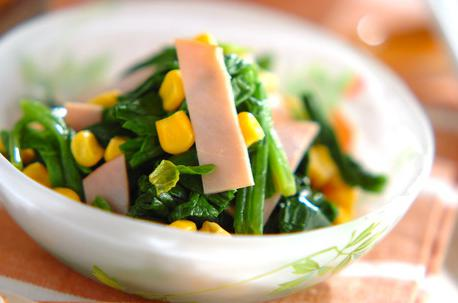 Recipe Spinach and Corn Salad