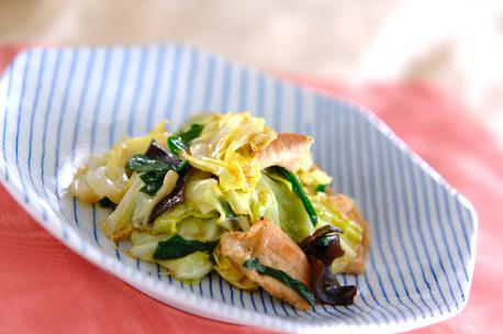 Recipe Stir-Fried Cabbage and Oysters