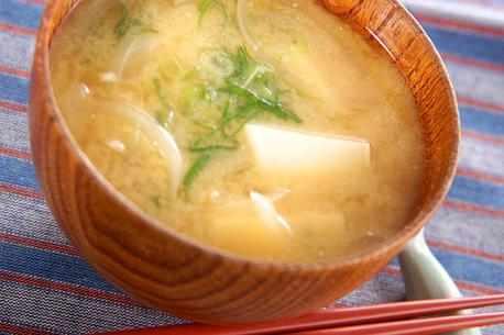 Recipe Tofu and Onion Miso Soup
