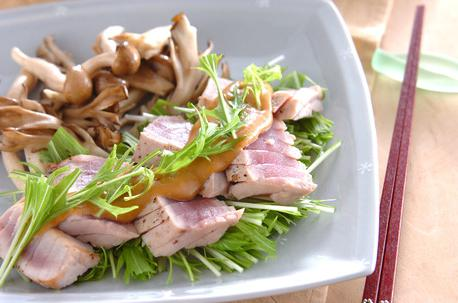 Recipe Tuna Steak with Sesame Sauce