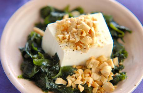 Recipe Wakame Seaweed and Cold Tofu